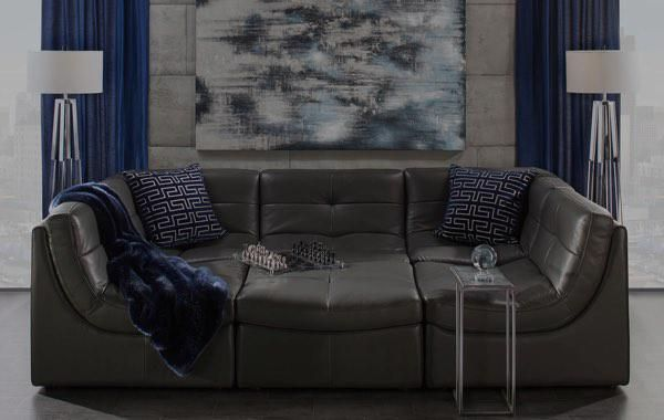 White Sectional Sofa Cloud Collection Z Gallerie Furniture Affordable Modern Furniture Chic Furniture