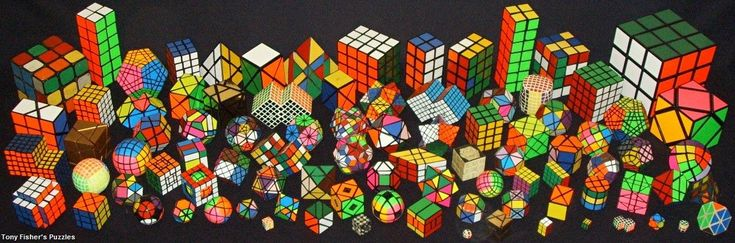 Lots of Rubric's Cubes