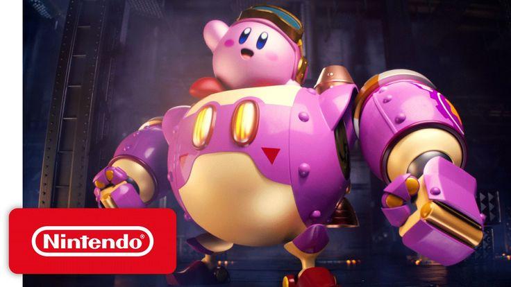 Kirby: Planet Robobot – 'Kirby Kicks Bot' Game Trailer