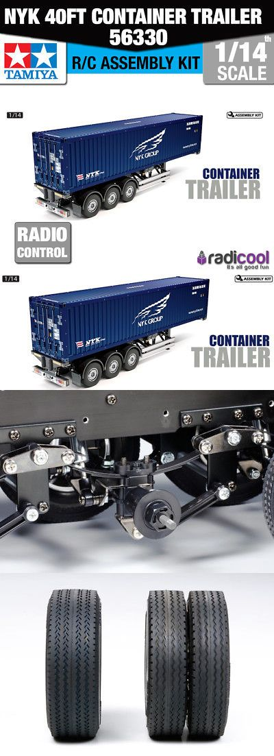 Industrial and Service Vehicles 182184: 56330 Tamiya Nyk 40Ft Container Semi-Trailer 1 14Th R C Radio Control Assembly -> BUY IT NOW ONLY: $421.95 on eBay!