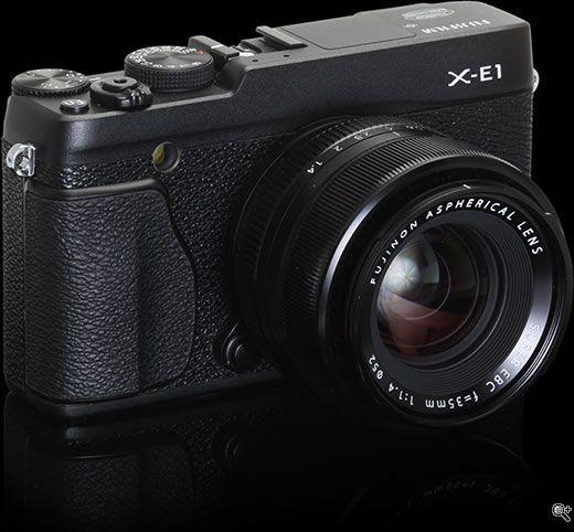 The Fuji X-E1 – a more reasonable but still expensive alternative to the Fuji X-Pro1.