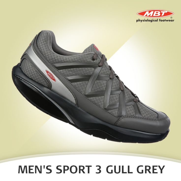 The all new Men's Sport 3 Gull Grey gives pure MBT® barefoot movement technology. Available in Black and White shades. For more details, visit: https://goo.gl/DZcaSf