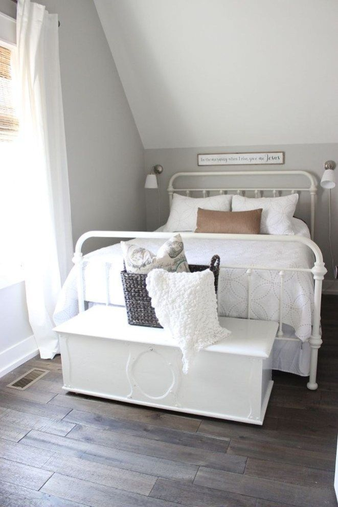 Comfy Bedroom Design And Decor Ideas With Farmhouse Style 24 ...
