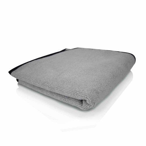 Chemical Guys MIC10241 UltraPlush MicroCotton Microfiber Towel Gray  17 in x 24 in Size Single Unit Model MIC_1024_1 Car  Vehicle Accessories  Parts ** Click image for more details.