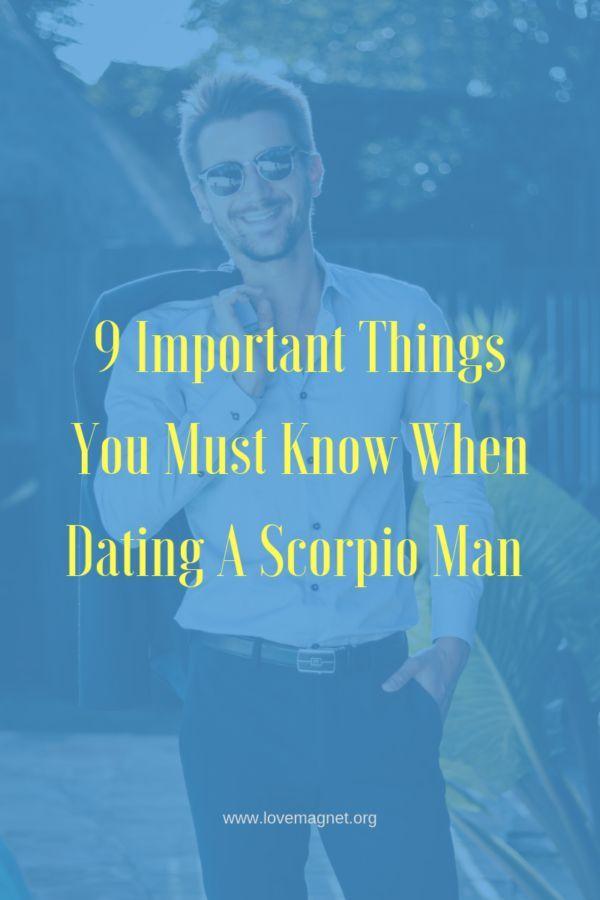 Love advice for scorpio man