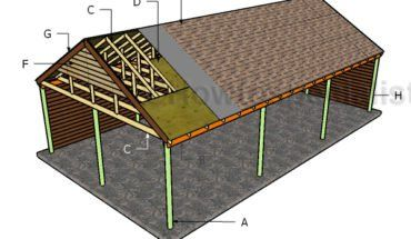 Building A 3 Car Carport Barn Pinterest Carport Plans Diy