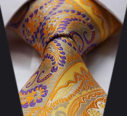 Hodvábna kravatová sada - kravata a vreckovka - vzor 29