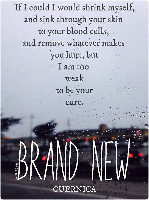 Brand Song Lyrics | Metrolyrics, View Brand New Song Lyrics By Popularity  Along With Songs