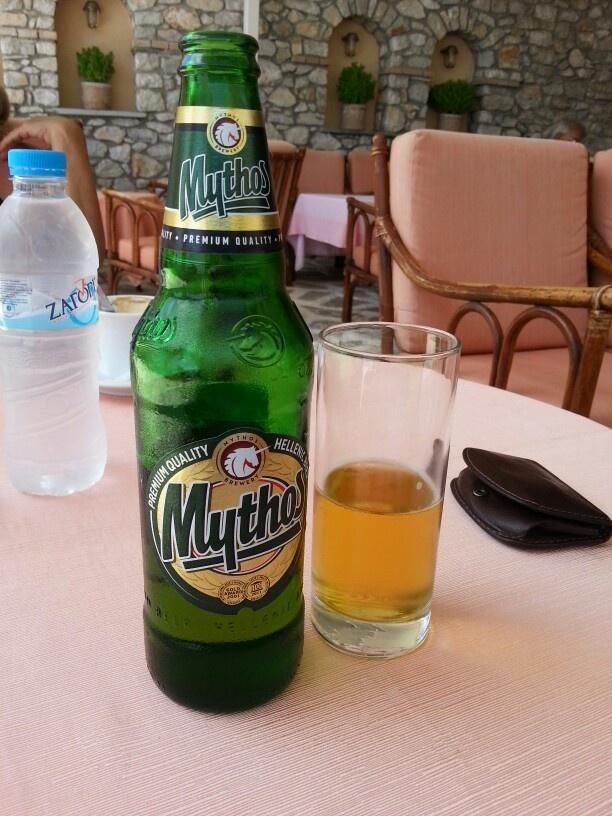 mythos ... greek beer :)