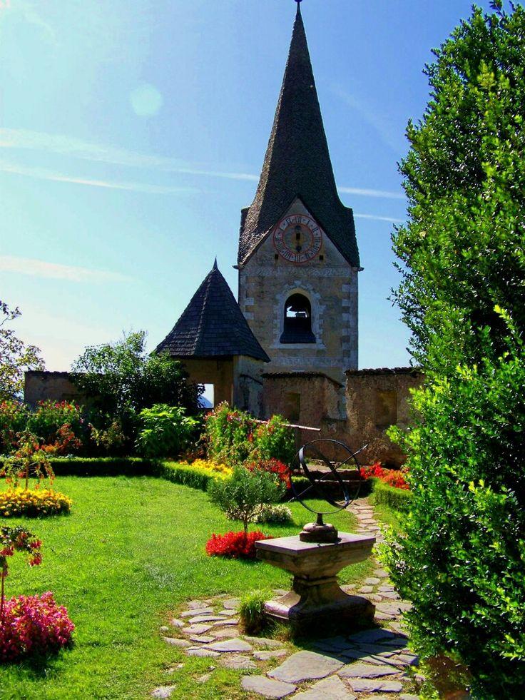 Hochosterwitz Castle gardens near St Veit an der Glan - Carinthia, Austria