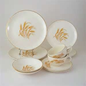 Vintage Dinnerware Set Service for 2 Homer by WoolTrousers on Etsy