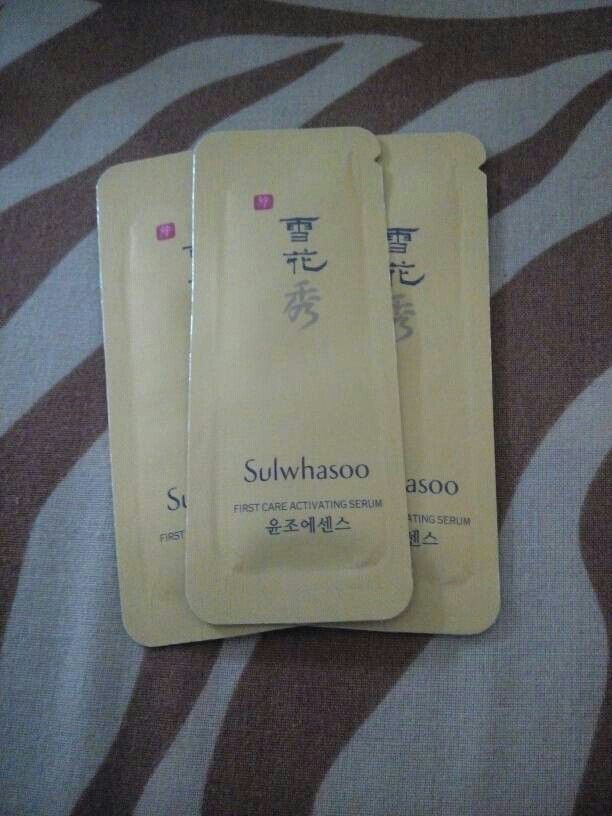 Sulwhasoo First Care Activating Serum 1mL - Rp8000. SMS/WA 081548115658
