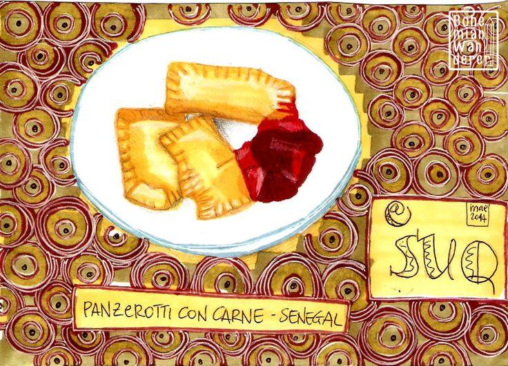 Suq - Festival delle Culture di Genova: cucina senegalese #senegal #cooking #cucina #food #cibo #drawing #disegno #illustrazione #illustration #suq #genova
