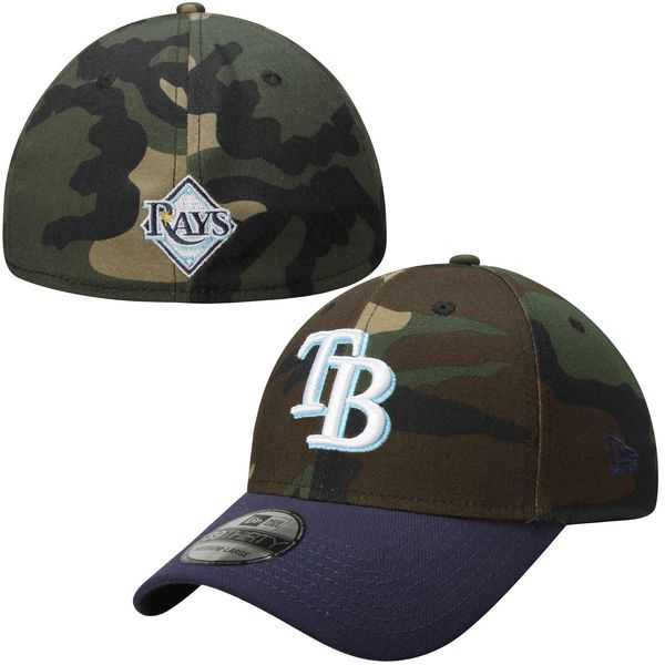 new product 0c7f5 de624 ... sweden mens tampa bay rays new era camo league classic 39thirty flex hat  your price 9691b