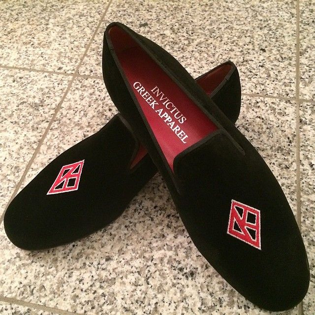 Kappa Alpha Psi slippers