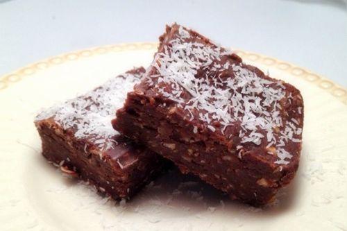 No Bake Chocolate Coconut Dream Bars Recipe (Gluten-Free, Grain-Free, Free of Refined Sugar)