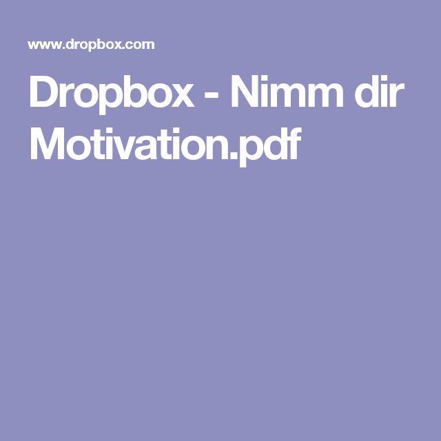 Dropbox - Nimm dir Motivation.pdf