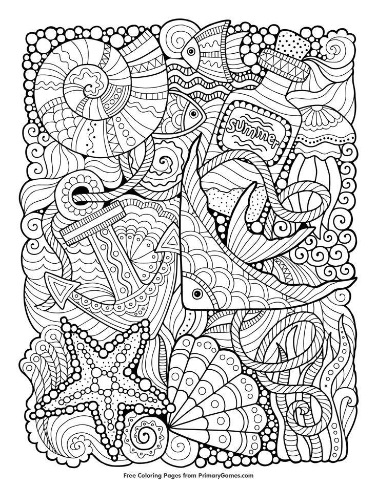 malvorlagen sommer ebook sommermeer  coloring pages mit