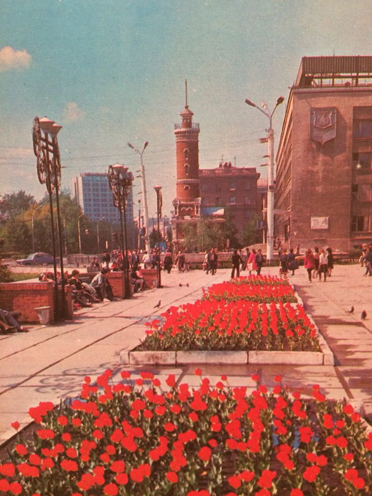 Омск взгляд в прошлое.