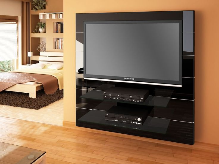 Panorama Black High Gloss TV Cabinet | Modern TV Stands