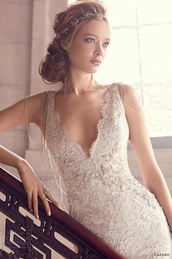 Jewelry VNeck Wedding Dress fashion dresses