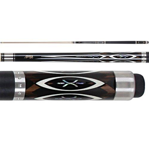 Cuetec Natural Inlay Series SST Black with Abalone X Inlays Two Piece Pool Cue by Cuetec. Save 13 Off!. $160.95. The Natural Inlay Series pool cues from Cuetec feature designs that can be appreciated by the more traditional player. Blending natural beauty with performance, every natural series cue boasts an innovative design for improved game play. Each natural cue includes a graphite core, so you can drive the ball harder and sharper for better draws and spins while reducing cu...
