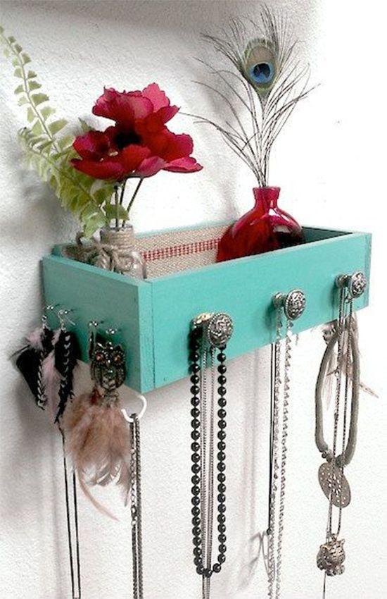 porta joias com gaveta