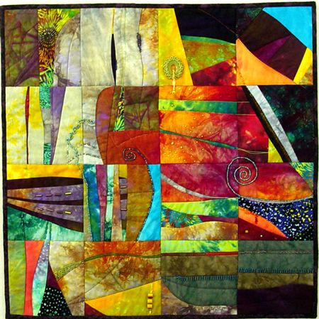 Michèle Saunders Koppelman - quilts - jewellery - classes