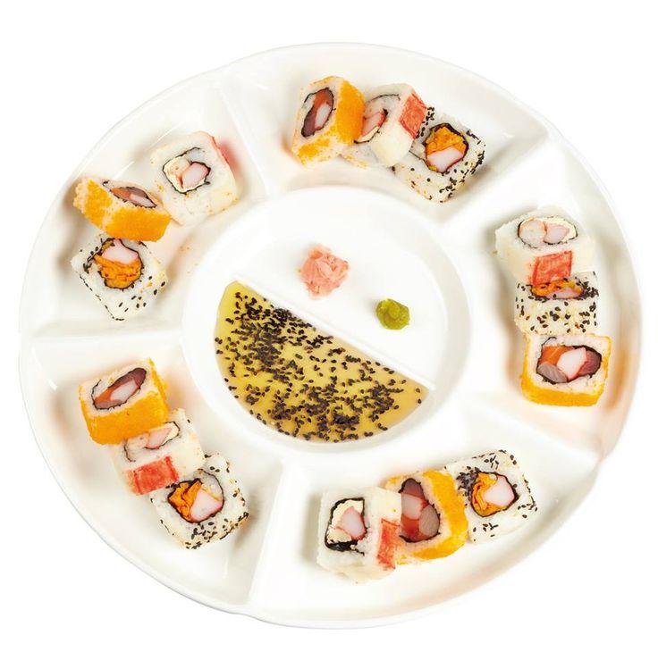 Gori gori roll: Los frutos del mar se fusionan para dar como resultado este delicioso sushi.