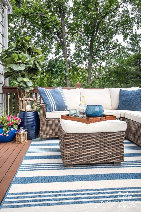 Small Deck Makeover Reveal – Jenna Kate at Home