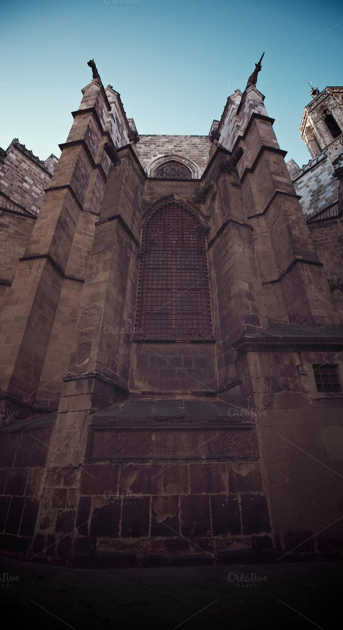 Gothic cathedral #1 by eVision.pl on @creativemarket