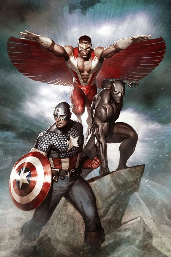 43 best images about marvel comics on pinterest hawkeye - Faucon avengers ...