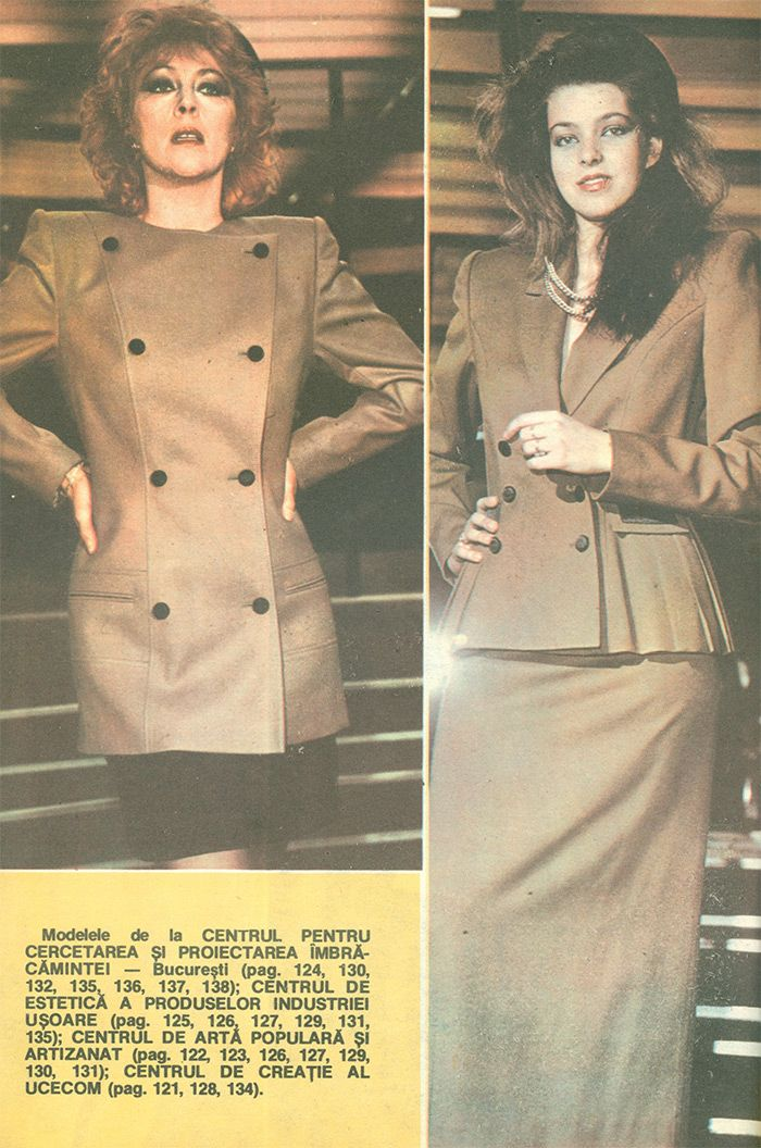 Moda Anului 1989 in Romania - #retro #romania #fashion