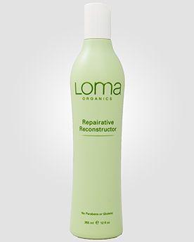 Восстанавливающее средство для поврежденных волос Loma Organics Repairative Reconstructor (ранее известное как «Увлажняющий реконструктор по...