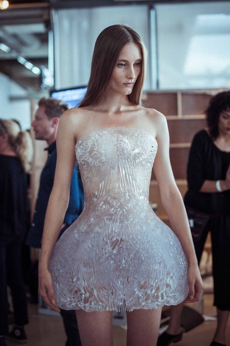 Fashion As Art Translucent Silicone Dress With