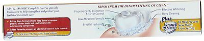Arm Hammer Complete Care Stain Defense Fluoride Anticavity Toothpaste, 6 Oz New