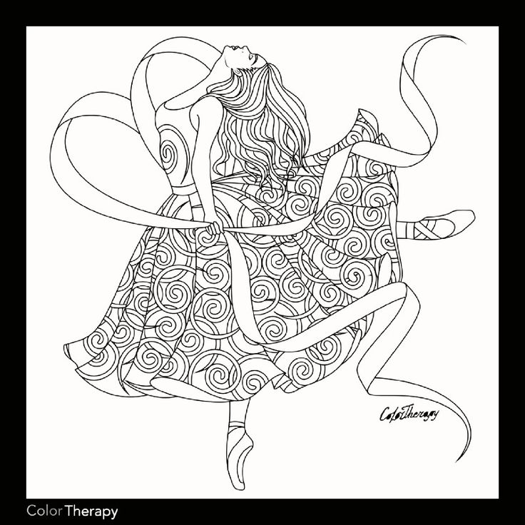 12+ Dance coloring pages for adults info