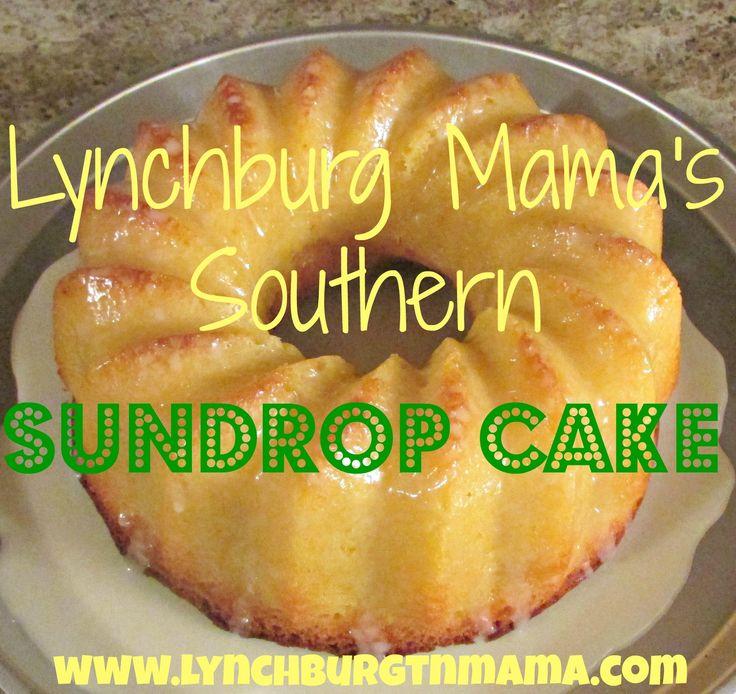 Easy Sundrop Cake Recipe