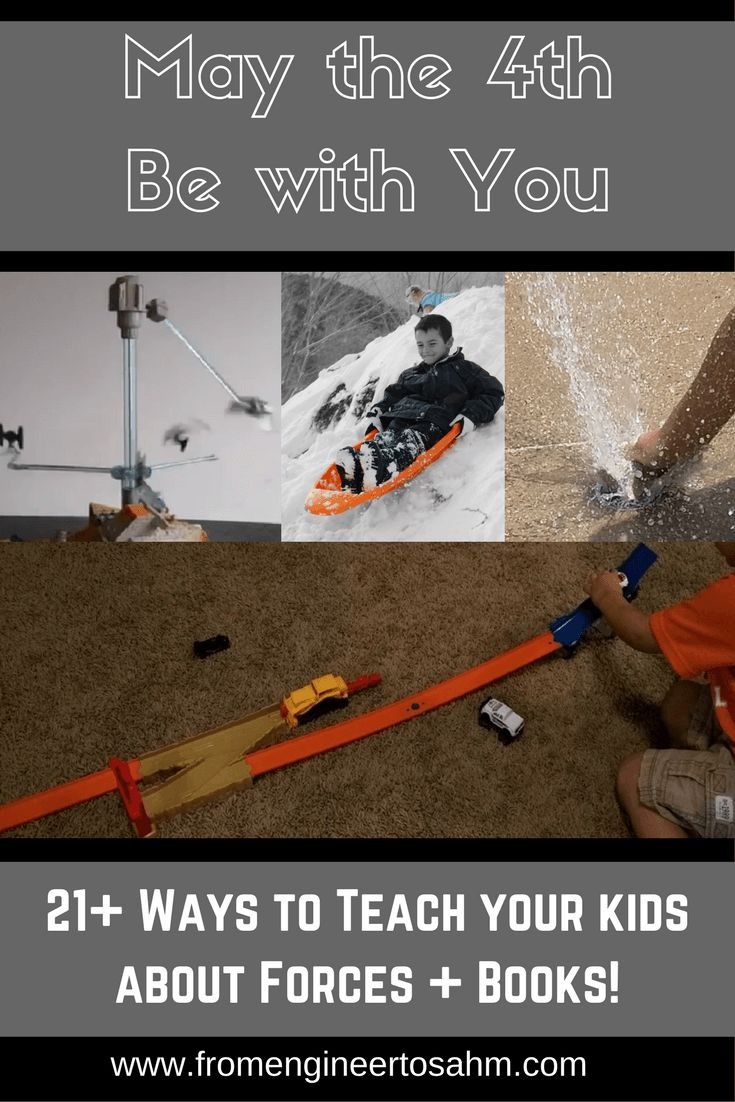 21+ activities and experiments to do with your kids that will teach them about forces. From friction to magnetic forces, you and your kids will have fun!