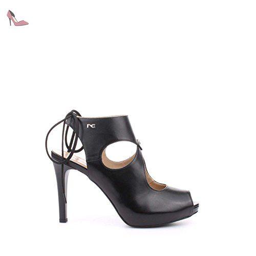 Nero Giardini Sandales Pour Femme - Noir - Noir, 37 EU