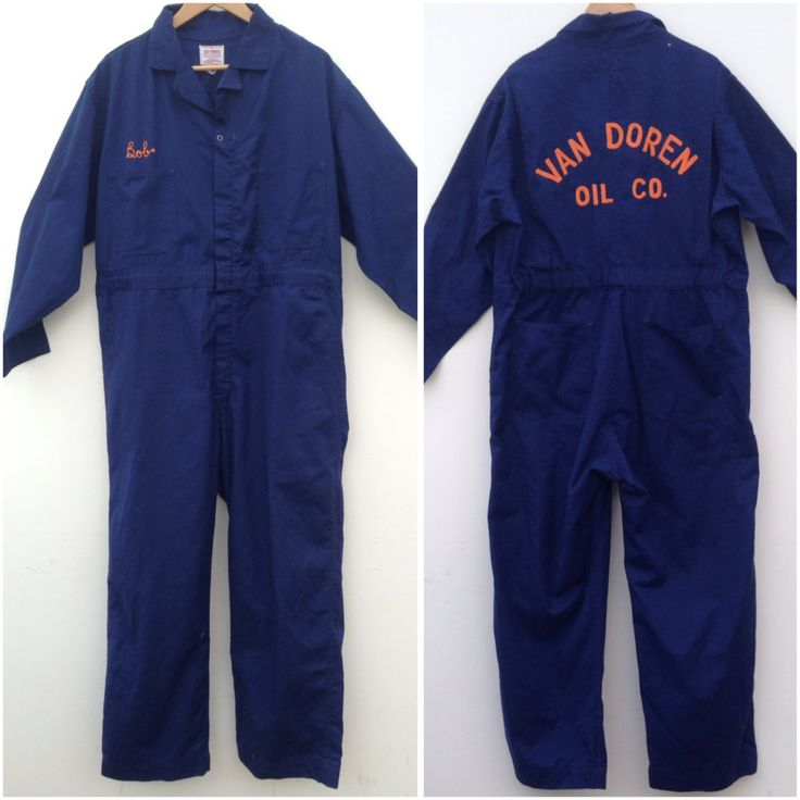 united garment workers of america vintage 1960s on work coveralls id=43109