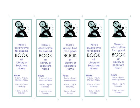 Best Printable Bookmarks Images On   Printable
