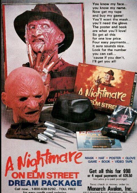 Freddy Kruger Halloween costume