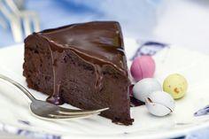 Τούρτα γκανάς σοκολάτας