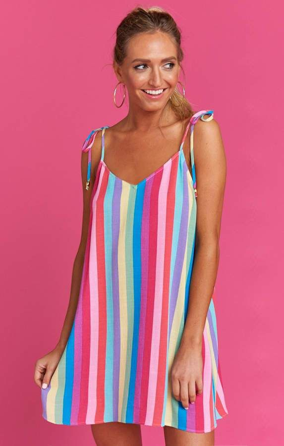 9f369d9c296e Show Me Your Mumu Throw and go Tie Dress ~ Kens Crayons Cruise by Show Me  Your Mumu