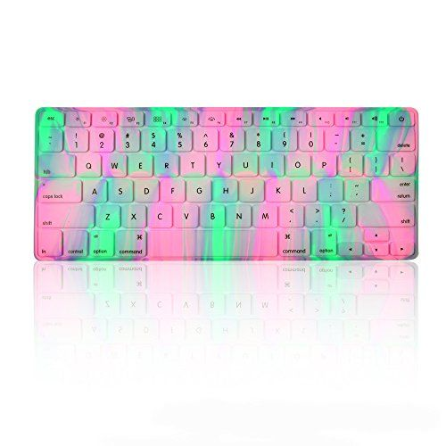 TopCase Polar Light Series Silicone Keyboard Cover Skin f...