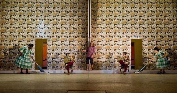 Hair. Darmstadt Staa - Hair. Darmstadt Staatstheater. Scenic design by Annemarie Woods. --- #Theaterkompass #Theater #Theatre #Schauspiel #Tanztheater #Ballett #Oper #Musiktheater #Bühnenbau #Bühnenbild #Scénographie #Bühne #Stage #Set