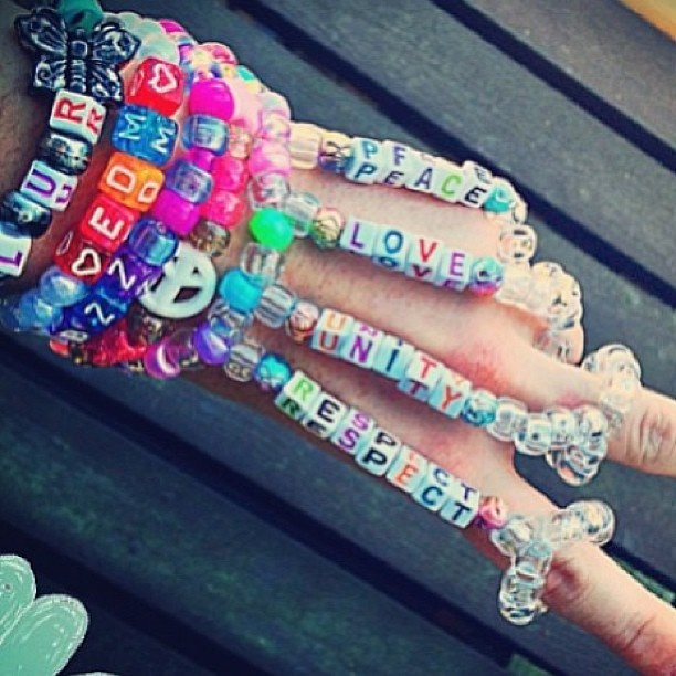Plur Hand Piece Kandi Kreations Pinterest Kandi Edm And Rave