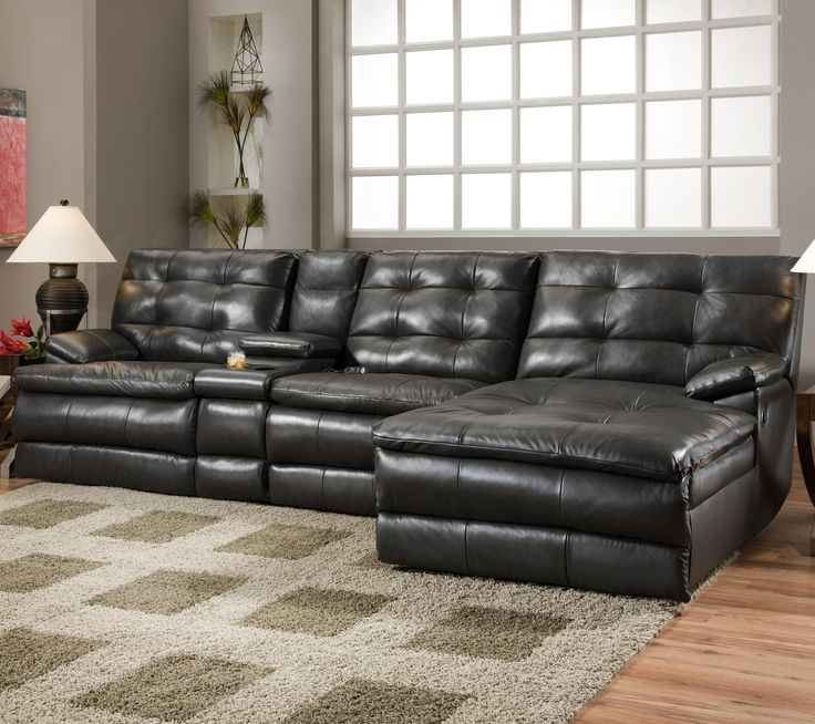 Luxury fortscapes Reclining Sectional Sofa by Southern Motion Things that bring a tear to my eye Pinterest Contemporary - Minimalist charcoal gray sectional sofa Photo