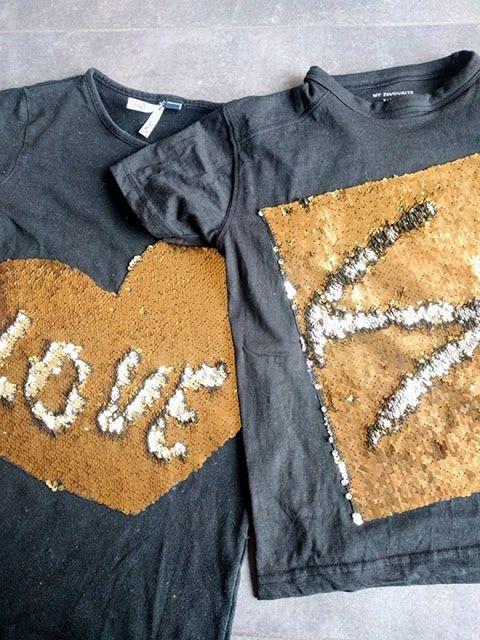 NaaiSGerief: Pailletten-blingbling-T-shirt zonder moeite!